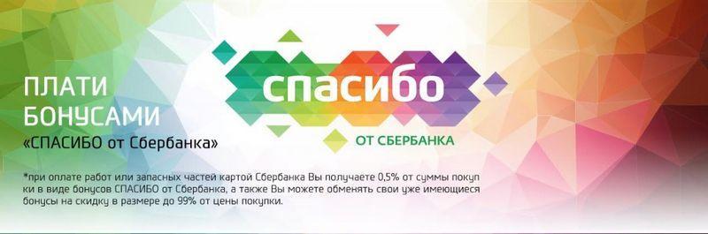"""Бонусная программа """"Спасибо от Сбербанка"""