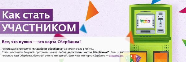 На картинке, взятой с официального сайта Сбербанка, указаны условия участия в акционной программе.