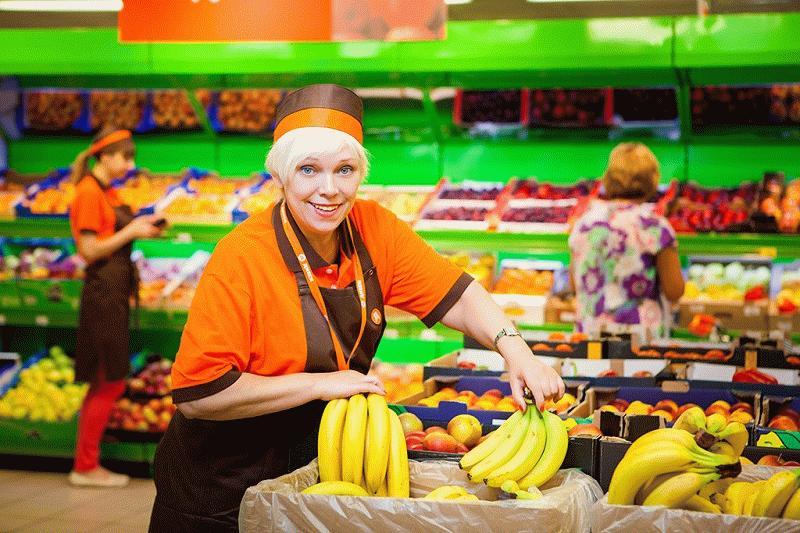 Рабочий день в гипермаркете