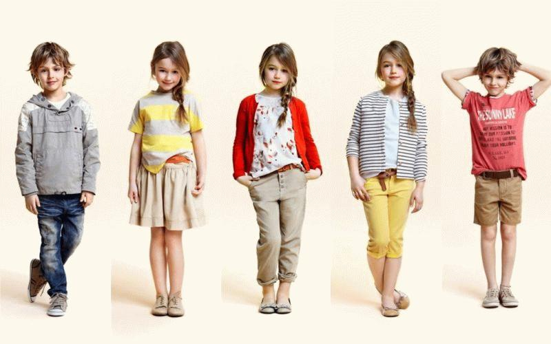 Модели одежды коллекции Zara kids