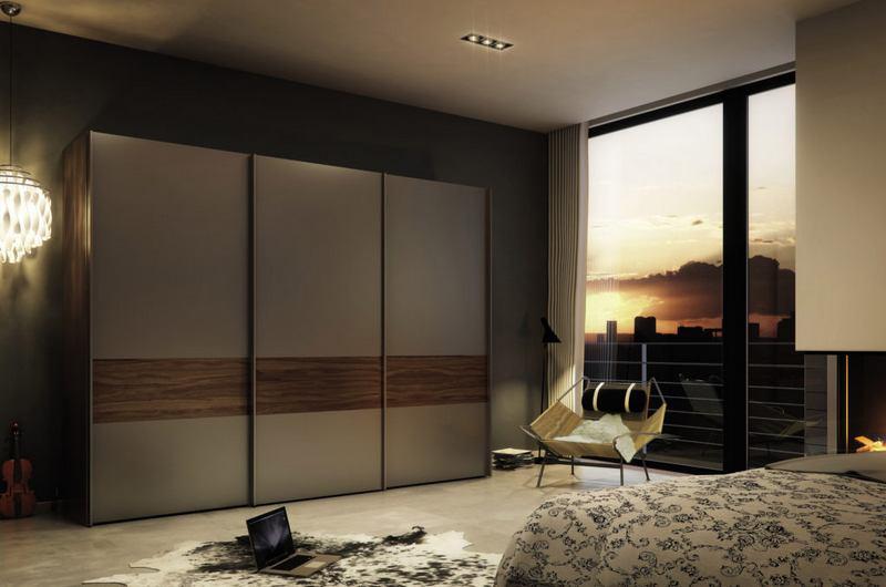 Купе в дизайне спальни