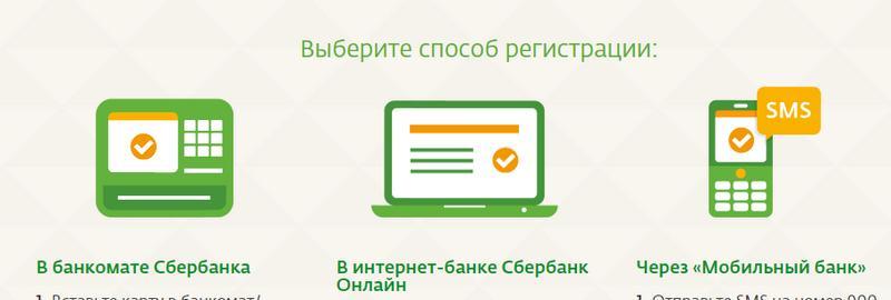 Способы регистрации