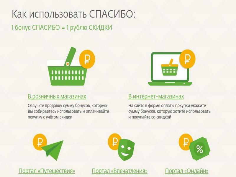 Опции на сайте программы