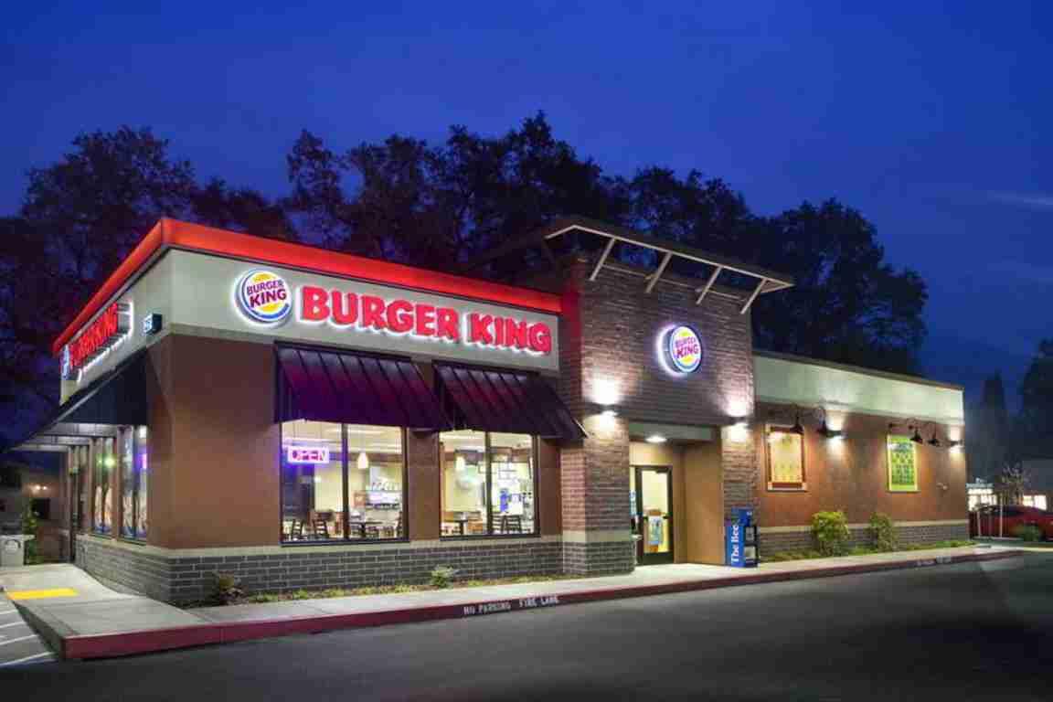 Один из ресторанов Бургер Кинг