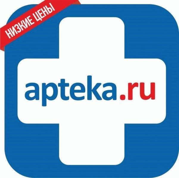 Логотип сайта «Аптека.ру»