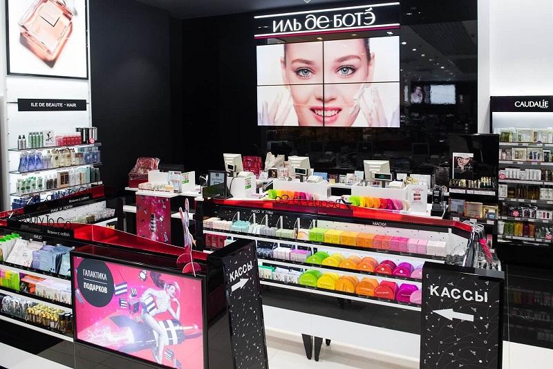 Иль де Ботэ является лидером на российском рынке продаж косметики и парфюмерии