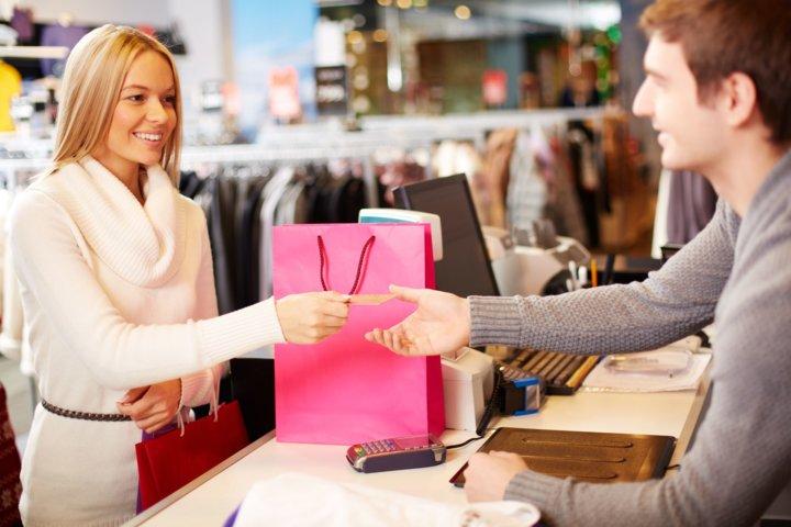 Получение чека при покупке