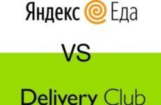 Яндекс.Еда и Деливери Клаб: какой сервис «вкуснее»?