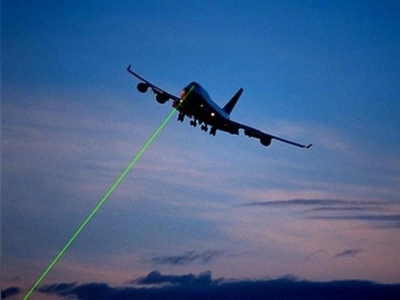 Лазерное хулиганство в мире